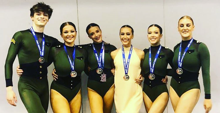 DWC 2020 Junior small group lyrical – Epiphany - Silver Medal